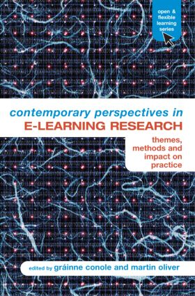 Contemporary Perspectives in E-Learning Research: Themes, Methods and Impact on Practice (Paperback) book cover