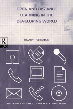 Open and Distance Learning in the Developing World: 2nd Edition (Paperback) book cover