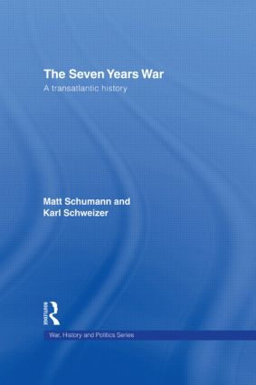 The Seven Years War: A Transatlantic History book cover