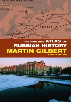 The Routledge Atlas of Russian History: 4th Edition (Paperback) book cover