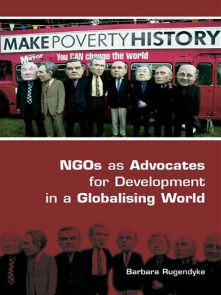 NGOs as Advocates for Development in a Globalising World (Paperback) book cover