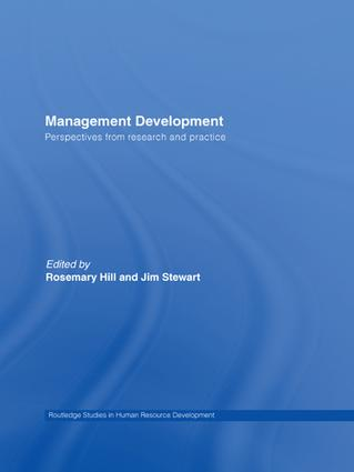 Management Development: Perspectives from Research and Practice (Hardback) book cover