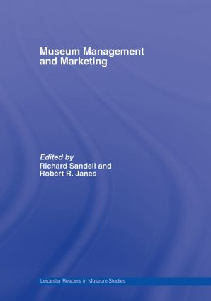 Museum Management and Marketing book cover