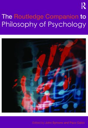 The Routledge Companion to Philosophy of Psychology (Hardback) book cover