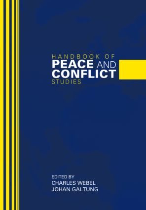 Handbook of Peace and Conflict Studies (Hardback) book cover