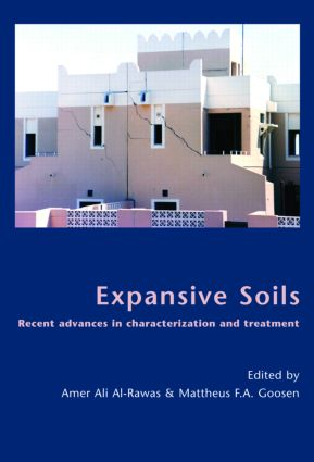 Expansive Soils: Recent Advances in Characterization and Treatment, 1st Edition (Hardback) book cover