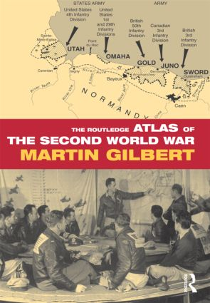 The Routledge Atlas of the Second World War (Hardback) book cover
