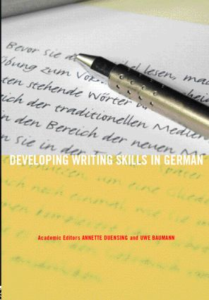 Developing Writing Skills in German (Paperback) book cover