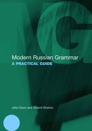 Modern Russian Grammar: A Practical Guide book cover