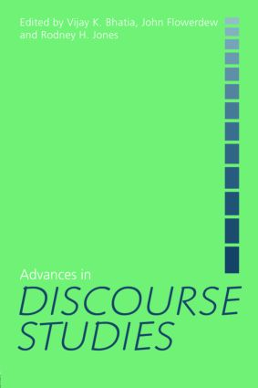 Advances in Discourse Studies: 1st Edition (Paperback) book cover