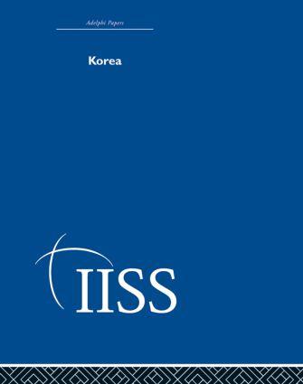 Korea: 1st Edition (Hardback) book cover