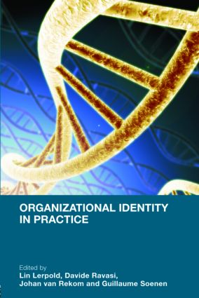 Organizational Identity in Practice: 1st Edition (Hardback) book cover