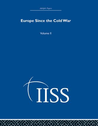 Europe Since the Cold War: Volume 2 (Hardback) book cover