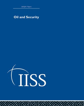 Oil and Security (Hardback) book cover