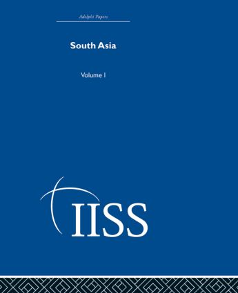 South Asia: Volume 1 (Hardback) book cover