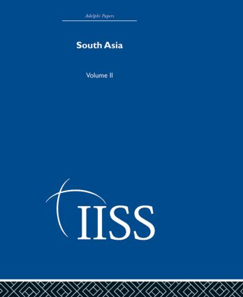 South Asia: Volume 2, 1st Edition (Hardback) book cover