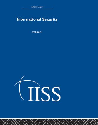International Security: Volume 1, 1st Edition (Hardback) book cover