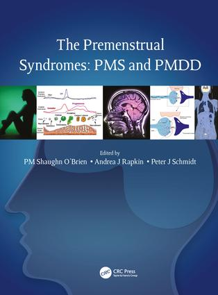 The Premenstrual Syndromes: PMS and PMDD (Hardback) book cover