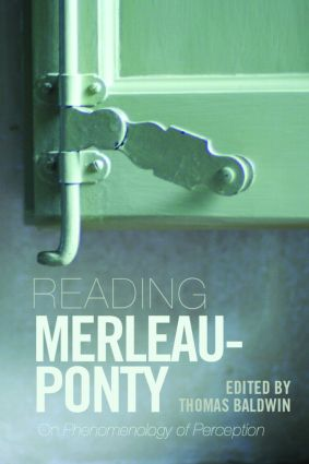 Reading Merleau-Ponty: On Phenomenology of Perception (Paperback) book cover