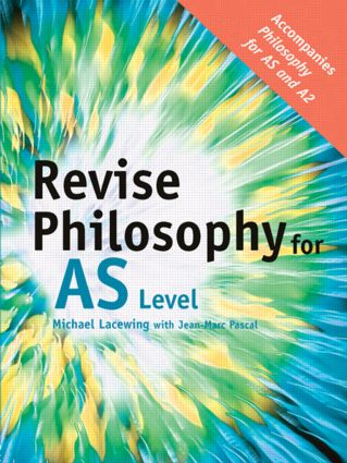 Revise Philosophy for AS Level (Paperback) book cover