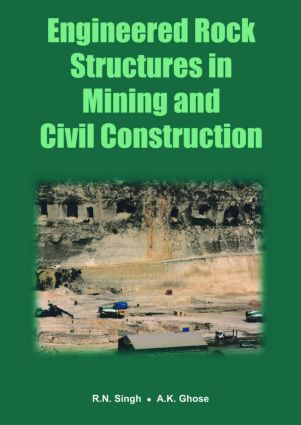 Engineered Rock Structures in Mining and Civil Construction: 1st Edition (Paperback) book cover