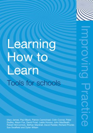 Learning How to Learn: Tools for Schools (Paperback) book cover