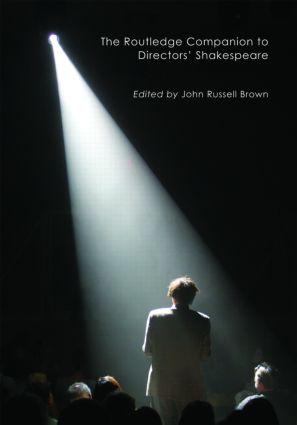 The Routledge Companion to Directors' Shakespeare book cover