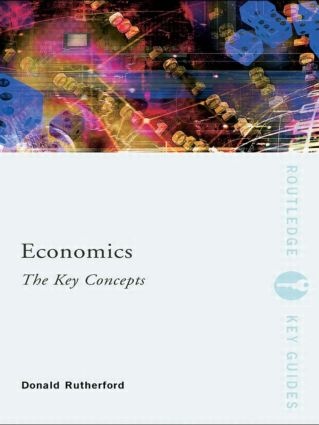 Economics: The Key Concepts (Paperback) book cover