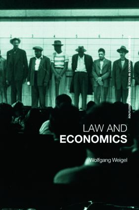 Economics of the Law: A Primer book cover