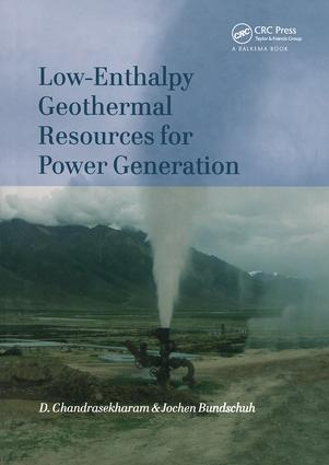 Low-Enthalpy Geothermal Resources for Power Generation: 1st Edition (Hardback) book cover