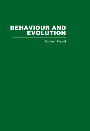 Behaviour and Evolution (Hardback) book cover