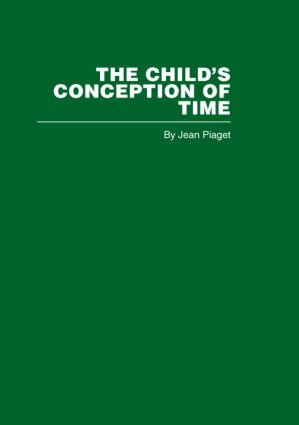 The Child's Conception of Time (Hardback) book cover