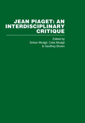Jean Piaget (Hardback) book cover