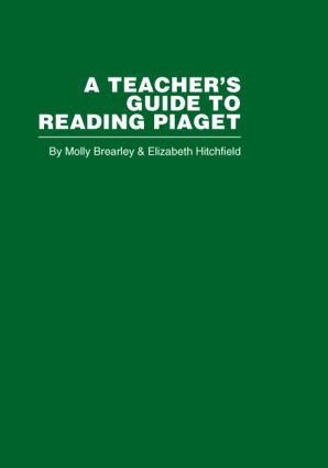 A Teacher's Guide to Reading Piaget (e-Book) book cover