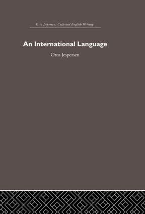 International Language (Hardback) book cover