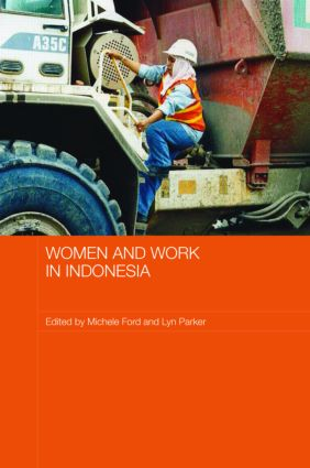 Women and Work in Indonesia (Hardback) book cover