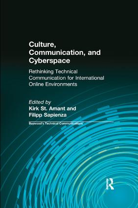 Culture, Communication and Cyberspace: Rethinking Technical Communication for International Online Environments, 1st Edition (Paperback) book cover