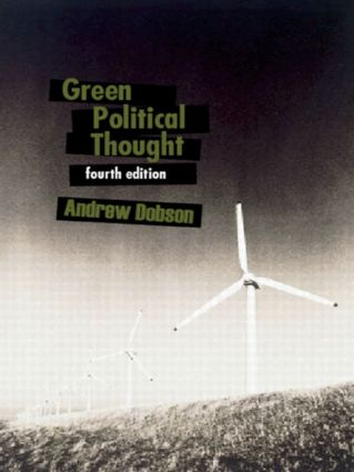 Green Political Thought: 4th Edition (Paperback) book cover