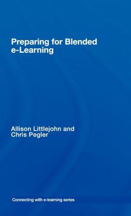 Documenting e-learning blends