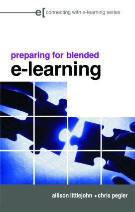 preparing for blended e-learning book cover