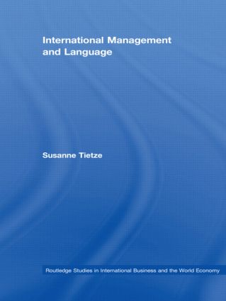 International Management and Language (Hardback) book cover