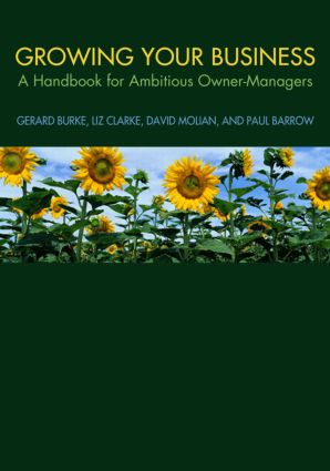 Growing your Business: A Handbook for Ambitious Owner-Managers, 1st Edition (Paperback) book cover