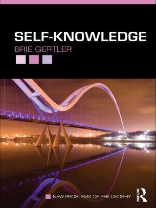 Self-Knowledge (Paperback) book cover