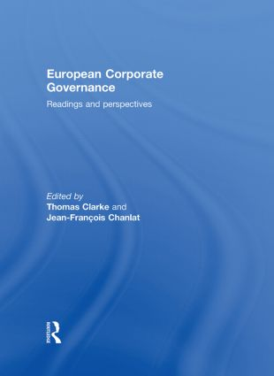 European Corporate Governance: Readings and Perspectives book cover