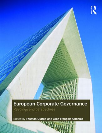 European Corporate Governance: Readings and Perspectives, 1st Edition (Paperback) book cover