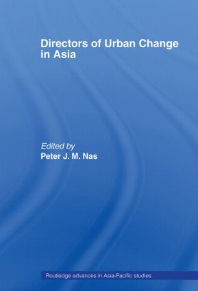 Directors of Urban Change in Asia (Paperback) book cover