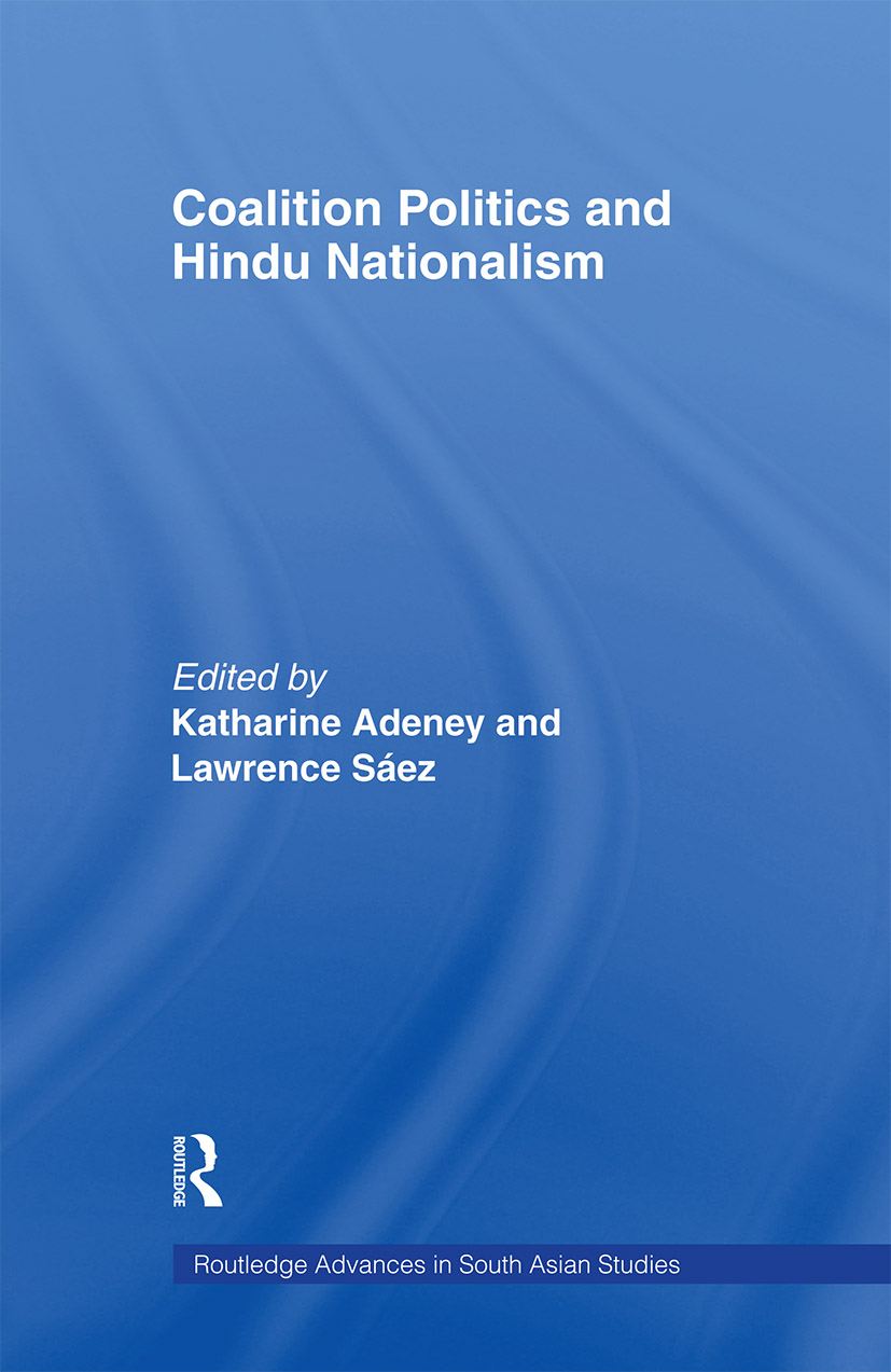 Coalition Politics and Hindu Nationalism (Paperback) book cover