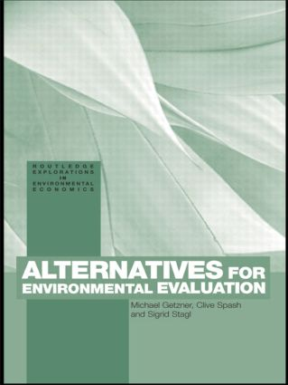 Alternatives for Environmental Valuation: 1st Edition (Paperback) book cover