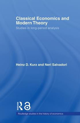 Classical Economics and Modern Theory: Studies in Long-Period Analysis (Paperback) book cover