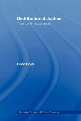 Distributional Justice: Theory and Measurement, 1st Edition (Paperback) book cover